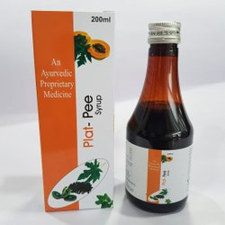 Papaya and kiwi extract syrup