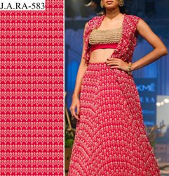 44 Digital Print Viscose Georgette Dress