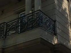 Iron Balcony Railing, For Home