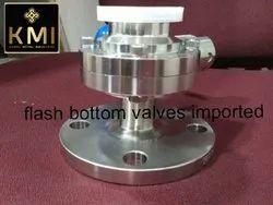 SS Flash Bottom Dairy Valves