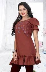 P R Fashion Launched Short Kurti