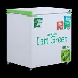 Rockwell Convertible Green Freezer- GFR 250SDUC - Single Door - Freezer Cum Cooler,209 L