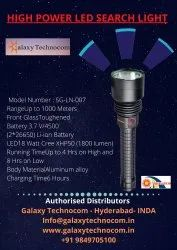 Led Rechargeable Search Light High Power