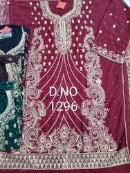 Ladies Heavy Embroidery Georgette Suit