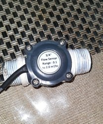 3/4 Full Bore Turbine Water Flow Sensors