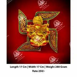 Lord Ganesh Satya Plate Statue