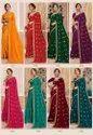 Soft Silk Zari Embroidery Saree
