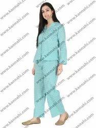 Night Wear Women Cotton Sleepwear, Size: X
