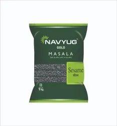 Dried Black Sesame Seeds, 5 %, Packaging Size: 1 Kg