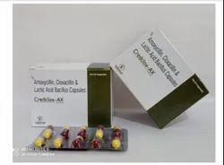 Amoxycillin, Cloxacillin And Lactic Acid Bacillus Capsules