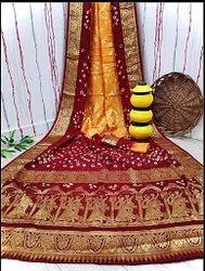 Raasleela Dual Tone Silk Saree