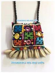 Multicolor Banjarawork Necklace