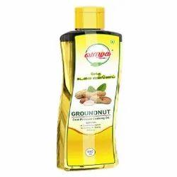 500ml Vaalga Cold Pressed Groundnut Cooking  Oil