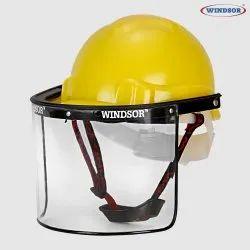 Windsor Safety Helmet (Ratchet) With Spring Face Shield (6X12) - 24 Pcs