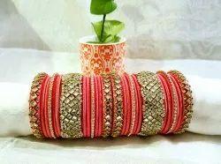 Handcrafted silkthread Bangles