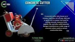 Concrete Groove Cutting Machine
