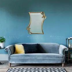 Brass Decorative Wall Mirror