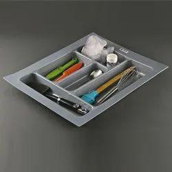 Slimline Drawer Cutlery Tray Kitchen Cabinet - Chopsticks Cutlery Storage Box , 45 Cm