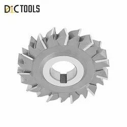 DIC Tools Silver Brazed Carbide Staggered Tooth Side Cutter
