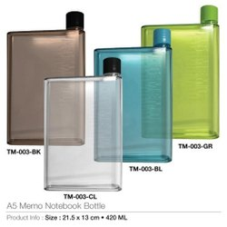 TM-003BK A5 Memo Notebook Bottle
