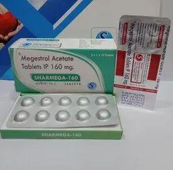 Megestrol Acetate 160 Mg Tab Sharmega-160, Mascot, 3*1*10