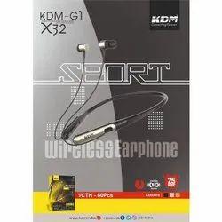KDM-G1 X32 Sport Wireless Earphone