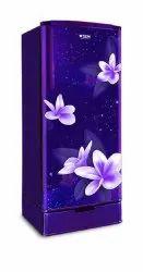 2 Star Direct Cool Gem Rubal Purple Single Door Refrigerator, Capacity: 180 Litre