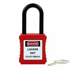 Normal Industrial Use Padlock With Nylon Shackle