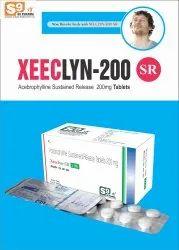 Acebrophylline 200 Mg Sr Tablets