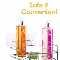 Corner Self, SS Corner Self, Self Adhesive Corner Shelf