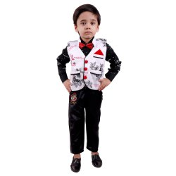 White Boy Designer Kids Wear Dress