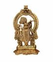 Gold Plated Shri Nath Ji Statue For Home Decoration & Corporate Gift
