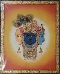 Shreenathji Tanjore painting