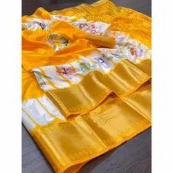 Soft Nylon Silk Saree