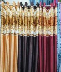 Printed Silk Door Curtain
