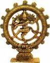 Gold Plated Natraja Statue For Home Decoration & Corporate Gift