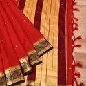 Paithani Cotton Silk Saree