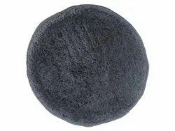 Shaggy Fabric Grey Round Shag Rug, For Floor