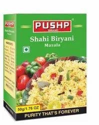 Pushp Shahi Biryani Masala, Packaging Size: 50 g, Packaging Type: Box