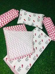 Hand Block Printed Cotton  Bedding Set