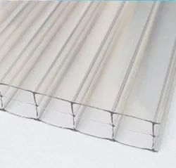 Triple Wall Polycarbonate Sheet, Thickness 6mm