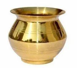 Golden Brass Lota, For Worship