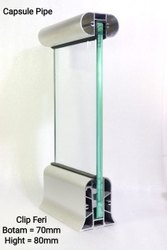 Designer Aluminium Glass Balcony Railing