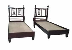 Roman Heritage Wooden Twin Bed