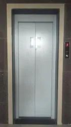 Mild Steel Silver MS Center Opening Elevator Door