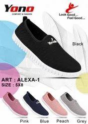 Yono PVC Ladies Casual Shoes