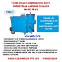 Three Phase Continuous Duty Vacuum Cleaner