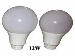 Aluminium Round 12Watt LED Bulb