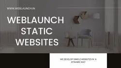 Static And Dynamic Website Design, With 24*7 Support
