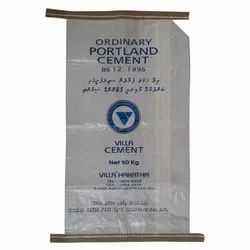 PP woven Cement Bag with inner paper liner